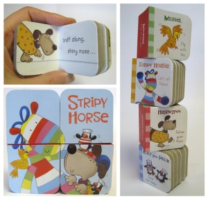 Stripy horse mini books